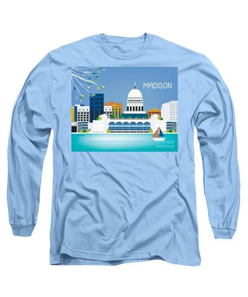 Madison Long Sleeve T-Shirt by Karen Young