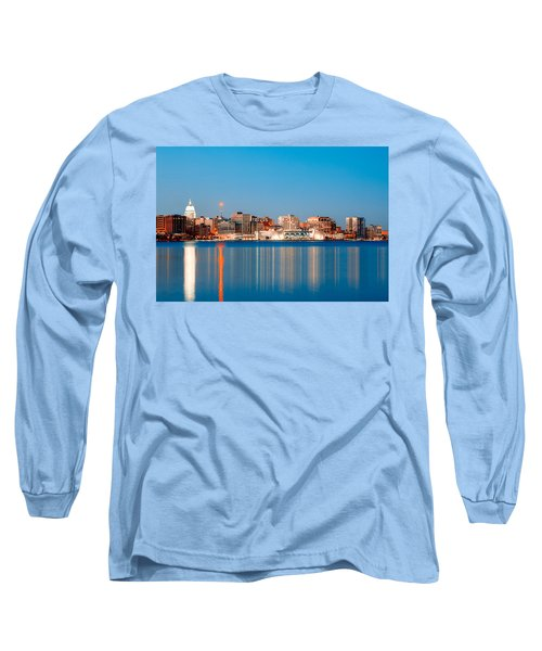 Madison Skyline Long Sleeve T-Shirt