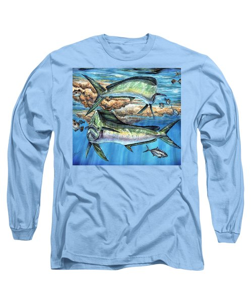 Magical Mahi Mahi Sargassum Long Sleeve T-Shirt