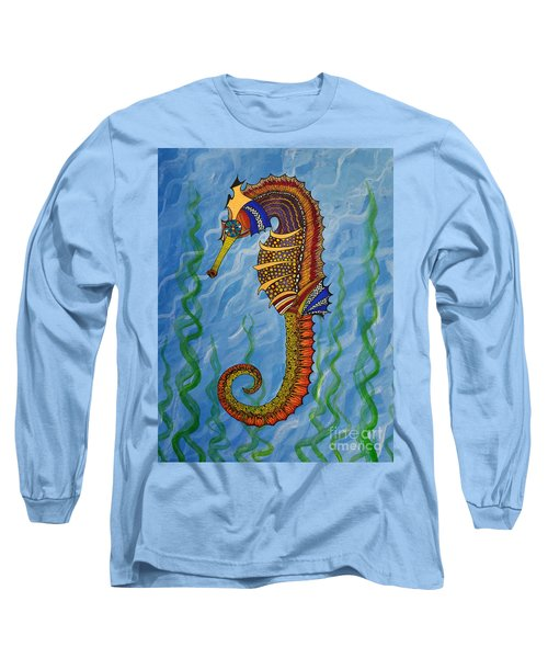 Magical Seahorse Long Sleeve T-Shirt