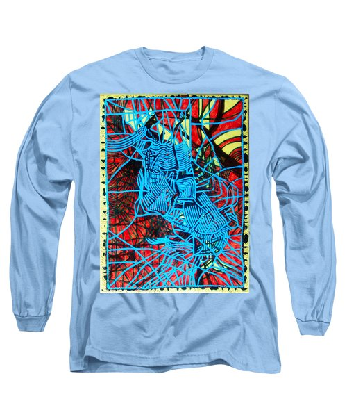Maiden In Blue - Mary In The Temple Long Sleeve T-Shirt