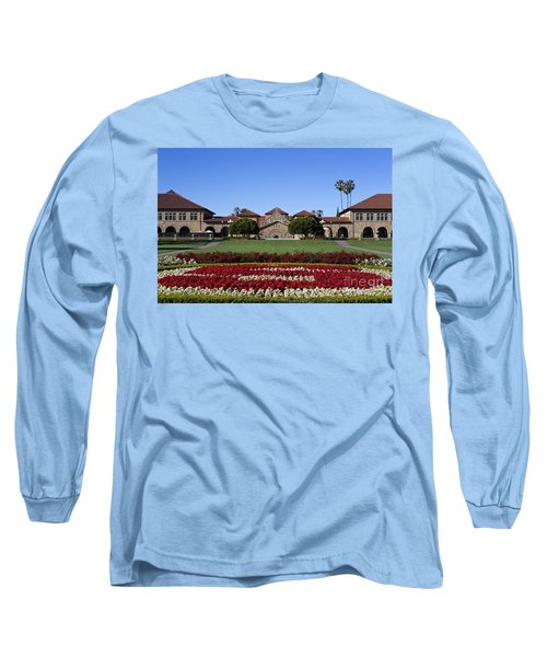Main Quad Stanford California Long Sleeve T-Shirt