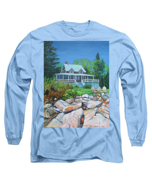 Maine Cottage Long Sleeve T-Shirt