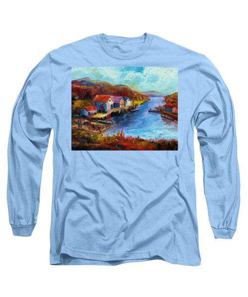 Maine Harbor Long Sleeve T-Shirt