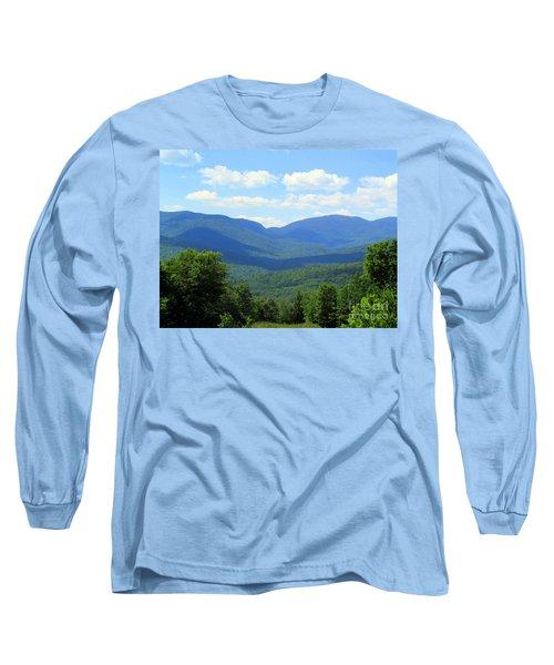 Majestic Mountains Long Sleeve T-Shirt