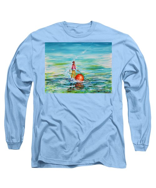 Strolling On The Water Long Sleeve T-Shirt