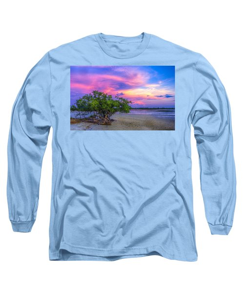Mangrove By The Bay Long Sleeve T-Shirt by Marvin Spates