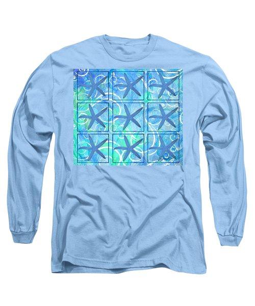 Many Stars By Jan Marvin Long Sleeve T-Shirt
