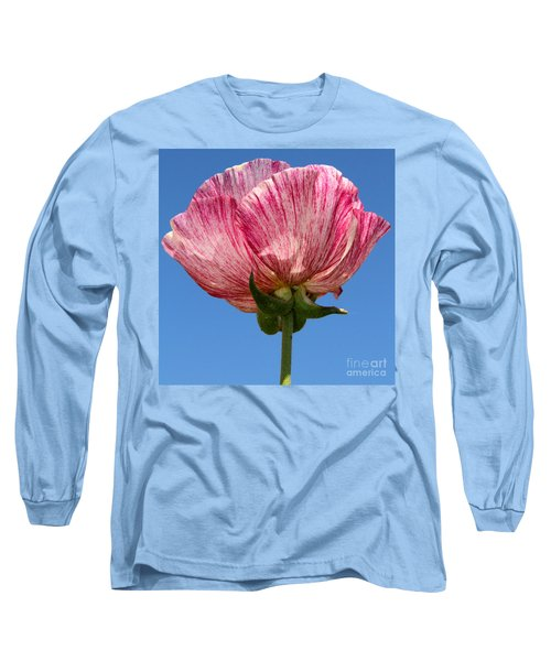 Marbled Mable Ranunculus Flower By Diana Sainz Long Sleeve T-Shirt