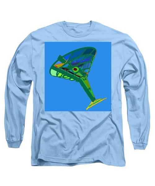 Martini Glass Long Sleeve T-Shirt