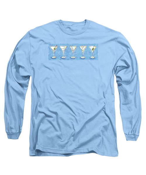 Martini Lunch Long Sleeve T-Shirt