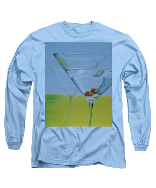Martini Time Long Sleeve T-Shirt