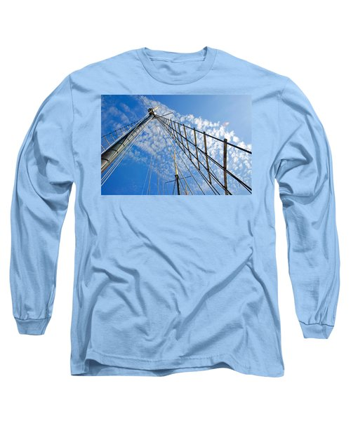Long Sleeve T-Shirt featuring the photograph Masted Sky by Keith Armstrong