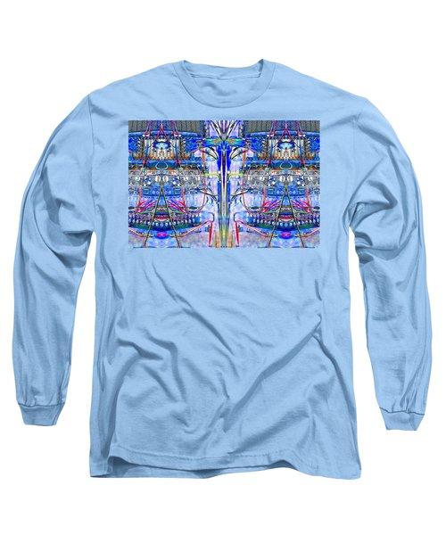 Matrix Blues Long Sleeve T-Shirt