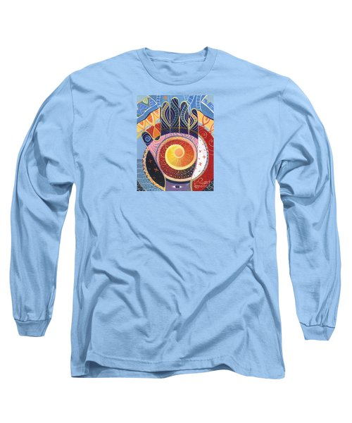May You Always Find Your Way Long Sleeve T-Shirt by Helena Tiainen