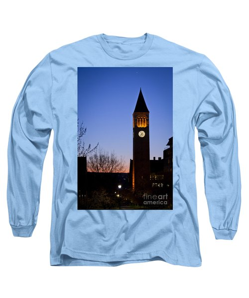 Mcgraw Tower Cornell University Long Sleeve T-Shirt