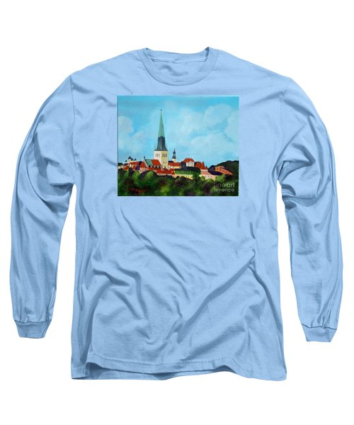 Medieval Tallinn Long Sleeve T-Shirt