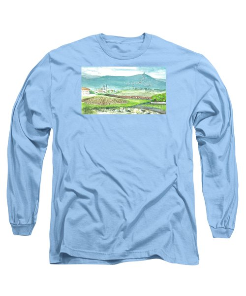 Medjugorje Fields Long Sleeve T-Shirt by Christina Verdgeline