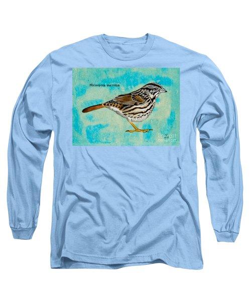 Melospiza Melodia Long Sleeve T-Shirt