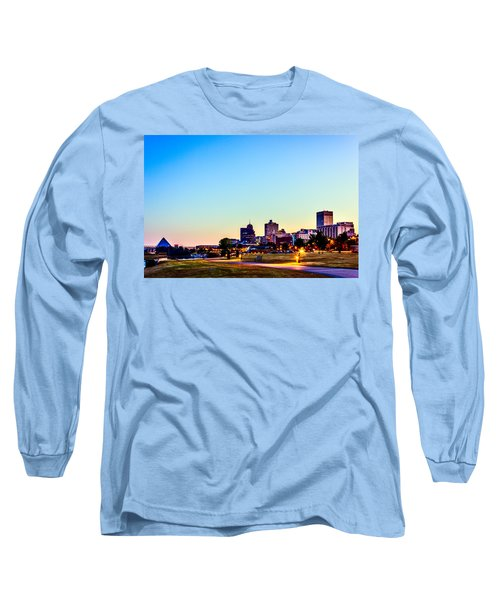 Memphis Morning - Bluff City - Tennessee Long Sleeve T-Shirt