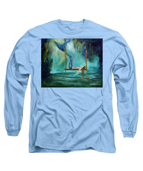 Mermaids Lazy Lagoon Long Sleeve T-Shirt