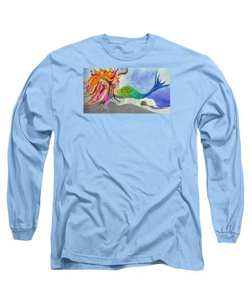 Mermaids On My Mind Long Sleeve T-Shirt