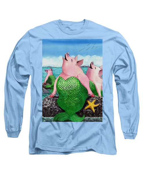 Merpigs Long Sleeve T-Shirt