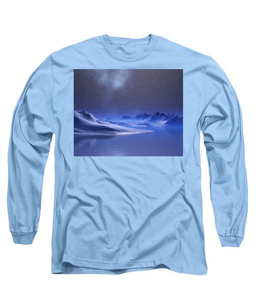 Midnight Snow Long Sleeve T-Shirt