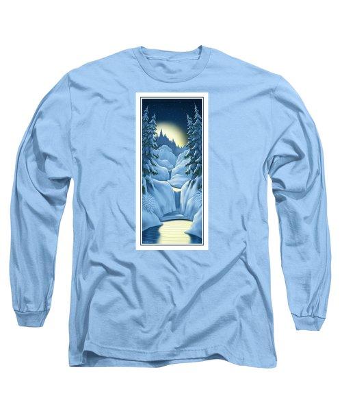 Midnight Sun Long Sleeve T-Shirt by Scott Ross
