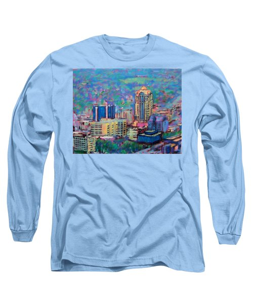 Mill Mountain View Long Sleeve T-Shirt by Bonnie Mason