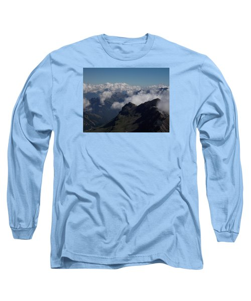 Mist From The Schilthorn Long Sleeve T-Shirt