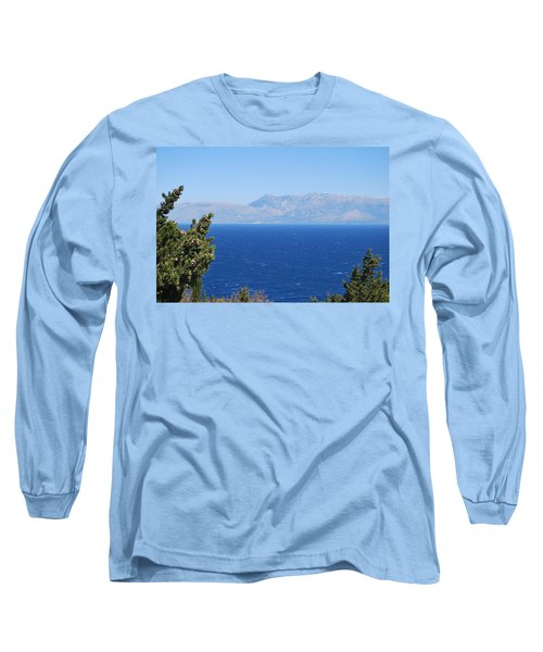 Long Sleeve T-Shirt featuring the photograph Mistral Wind by George Katechis