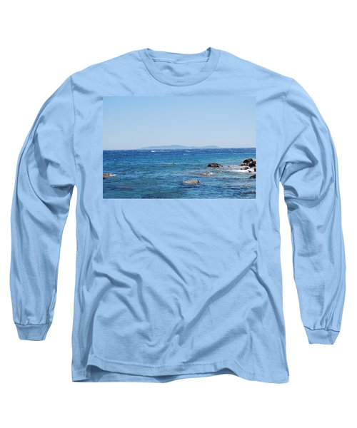 Long Sleeve T-Shirt featuring the photograph Mistral.force 6 by George Katechis