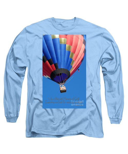 Moments Of Gold Long Sleeve T-Shirt