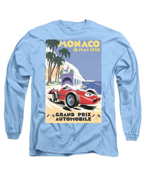 Monaco Grand Prix 1958 Long Sleeve T-Shirt
