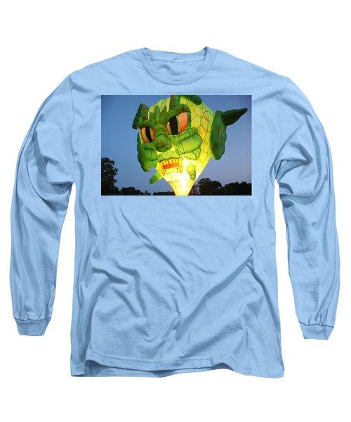 Monster Balloon Long Sleeve T-Shirt by Richard Engelbrecht