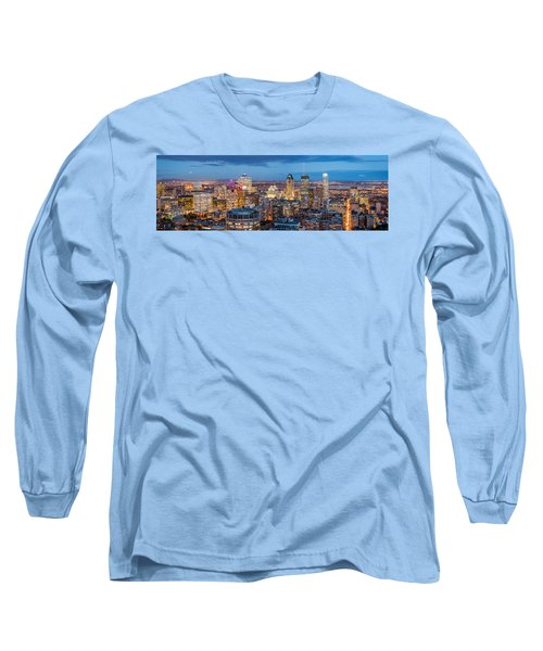 Montreal Panorama Long Sleeve T-Shirt