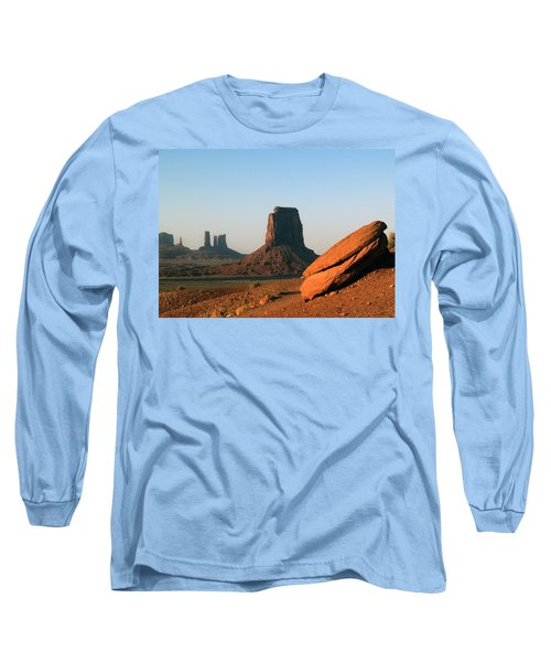 Monument Valley Afternoon Long Sleeve T-Shirt