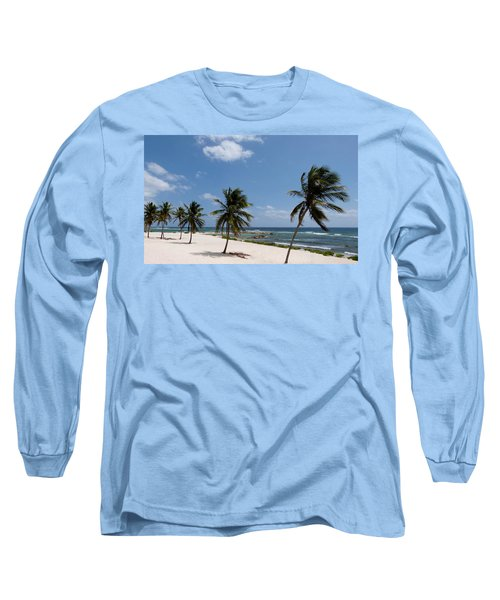 Long Sleeve T-Shirt featuring the photograph Moon Bay by Amar Sheow