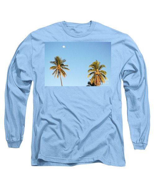 Moon Over Molokai Long Sleeve T-Shirt