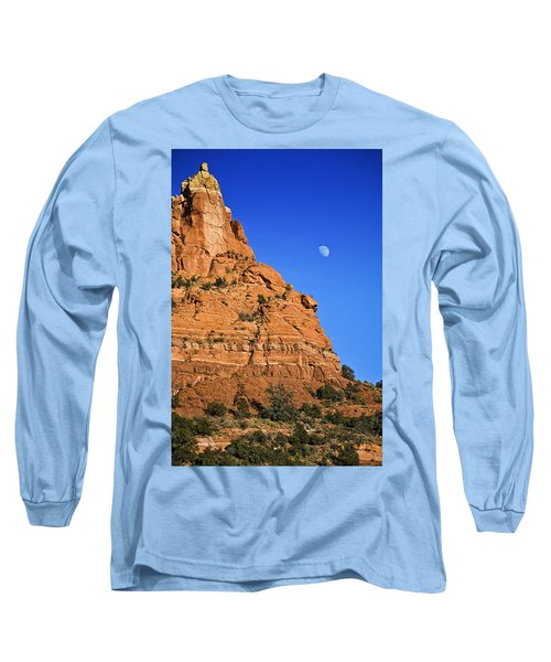 Moon Over Sedona Long Sleeve T-Shirt
