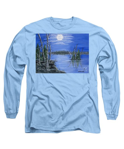 Moonlight Mist Long Sleeve T-Shirt