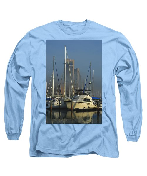 Morning Fog Ll Long Sleeve T-Shirt