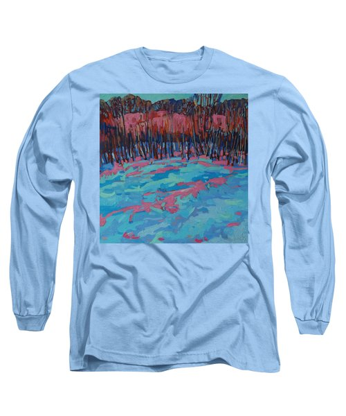 Morning Forest Long Sleeve T-Shirt by Phil Chadwick