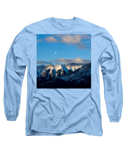 Morning In Mountains Long Sleeve T-Shirt