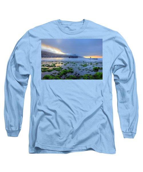 Morning Malibu Surf Long Sleeve T-Shirt