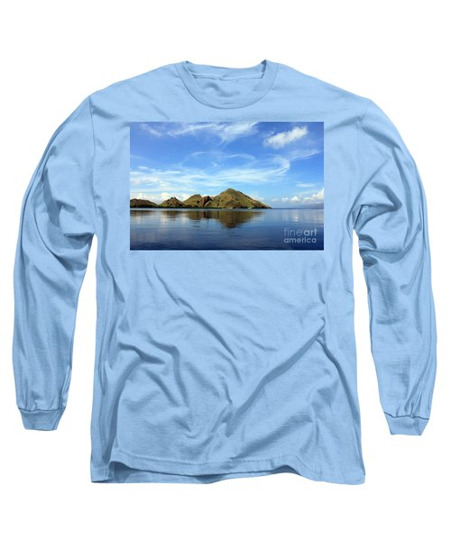 Long Sleeve T-Shirt featuring the photograph Morning On Komodo by Sergey Lukashin