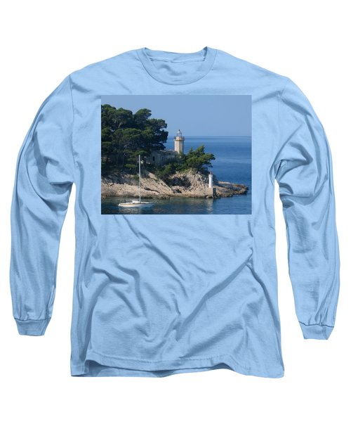 Morning Sail Long Sleeve T-Shirt by Jennifer Wheatley Wolf