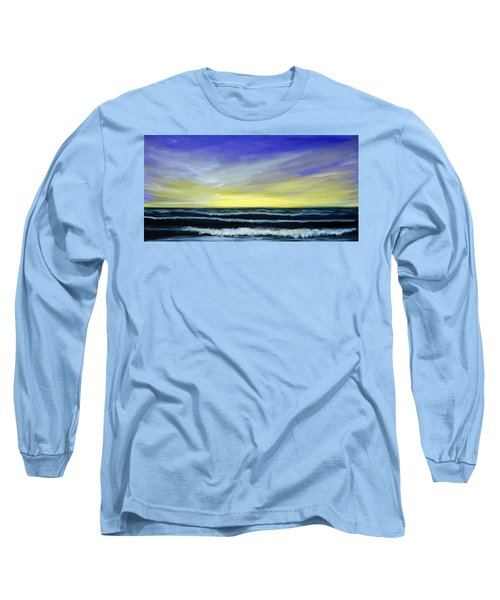 Morning Star And The Sea Oceanscape Long Sleeve T-Shirt
