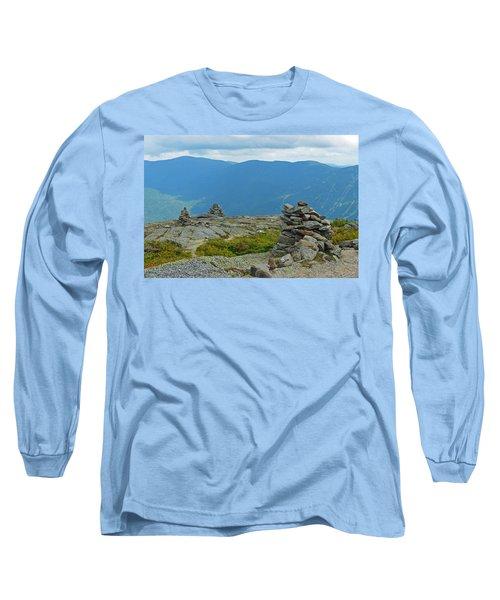 Mount Washington Rock Cairns Long Sleeve T-Shirt